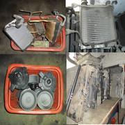 Радиатор печка моторчик печка Toyota L C Prado  Hilux Surf , 4Runner